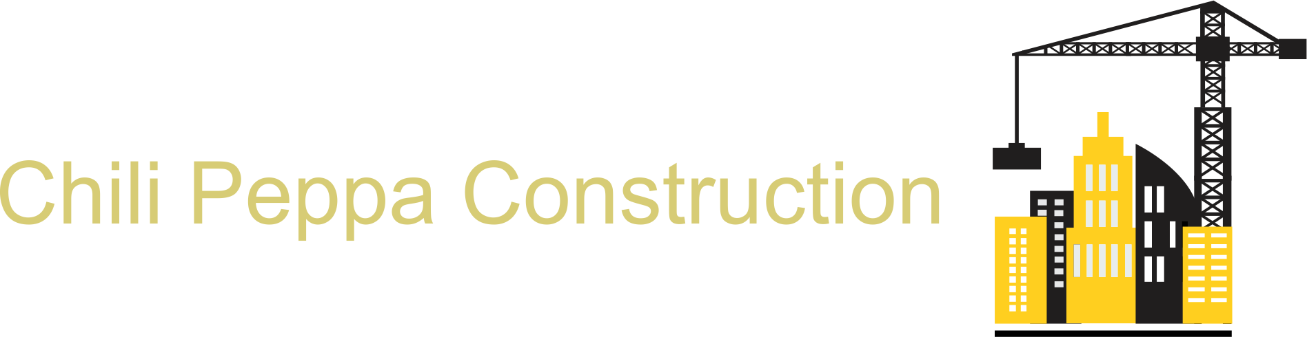 Chili Peppa Construction Logo